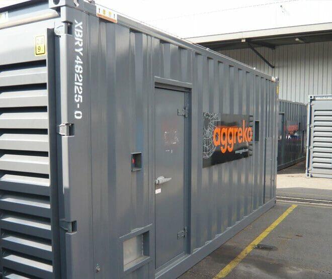 Aggreko-container