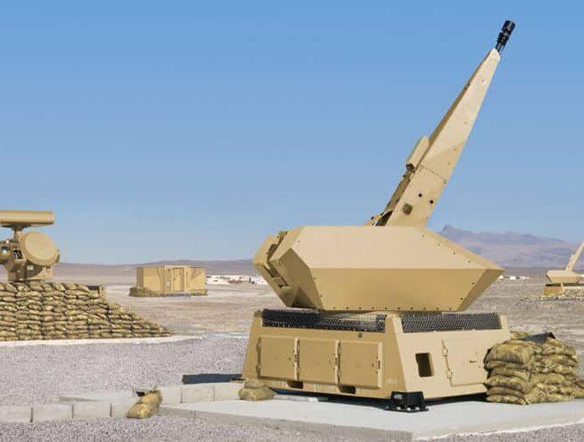 NBS C-RAM Nächstbereichschutz Camp Protection Skyshield Sensor Unit GDF020 BFZ